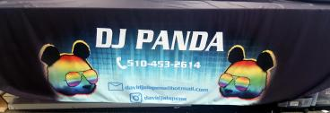 DJ Panda Alameda Table throw