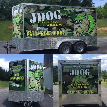 Full Trailer Wrap