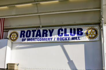 Rotary Club of Montgomery Rocky Hill New Jersey Outdoor Banner