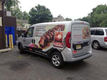 Vidalia Food Van Vehicle Wrap