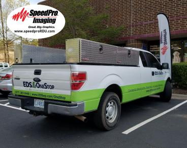 EDS Gets a Fresh Partial Vehicle Wrap