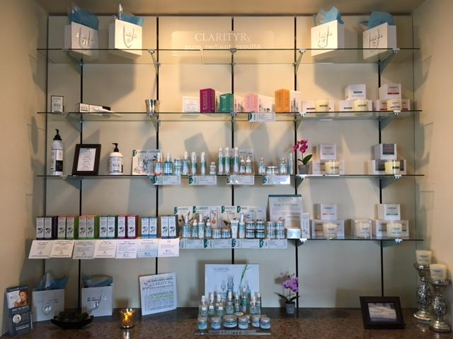 We carry Clarity Skincare