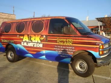 Ark Salvation Vehicle Wrap