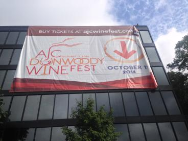 AJC Wine Fest Banner