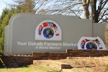 Dekalb Farmers Market Outdoor Signage
