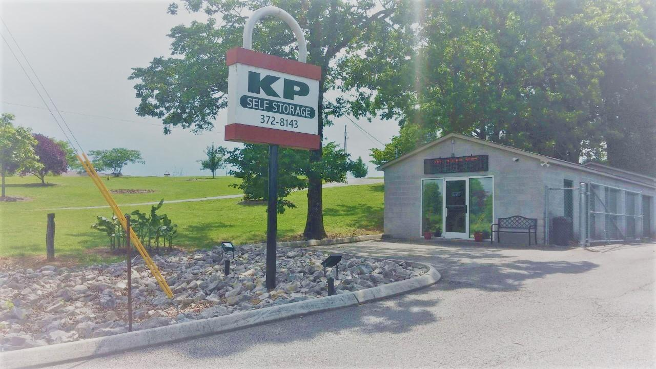 Front View Of KP Self Storage Office