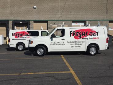 Fresh Coat Van Graphics