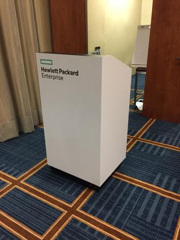 Hewlett Packard Corporate Branded Podium, Renaissance Hotel Dallas