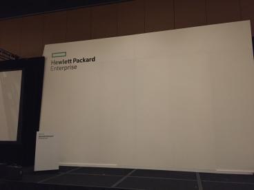 Hewlett Packard Event Wall Mural, Renaissance Hotel Dallas