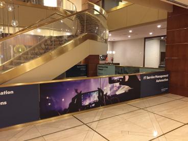 Hewlett Packard Event Graphics, Renaissance Hotel Dallas