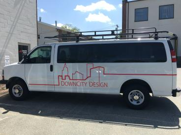 Down City Design Providence Vehicle Graphics