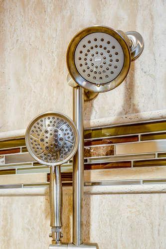 After - Moen Hand Shower in Brushed Nickel