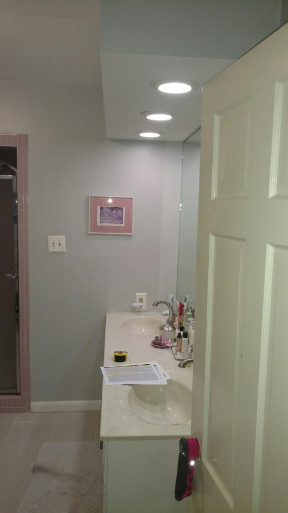 Complete bathroom remodel in Harrisburg, PA
