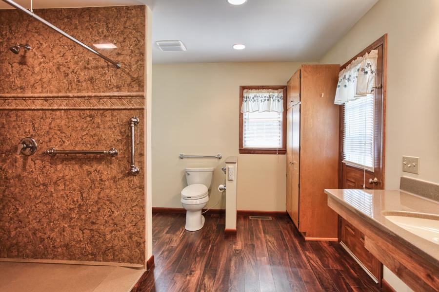 Accessible bathroom remodel in Ephrata, PA