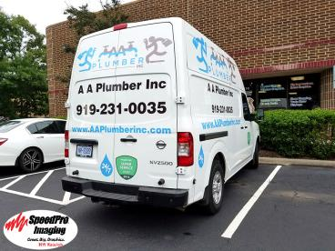 AA Plumber Gets New Vehicle Graphics