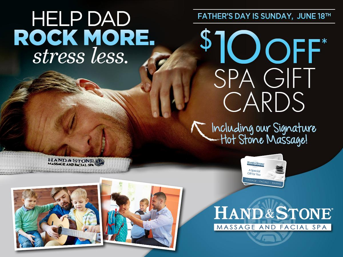 Father's Day is Sunday, June 18th