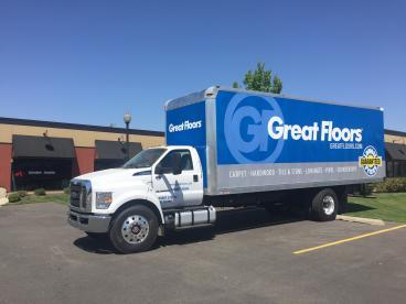 Great Floors box truck wrap