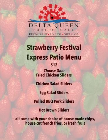 Strawberry Festival on the Delta Queen