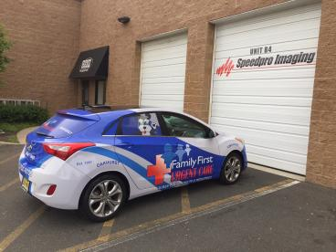 Family First Vehicle Wrap