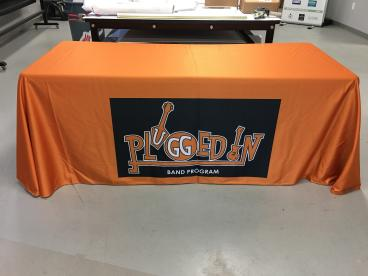 Plugged In Band Program Table Throw