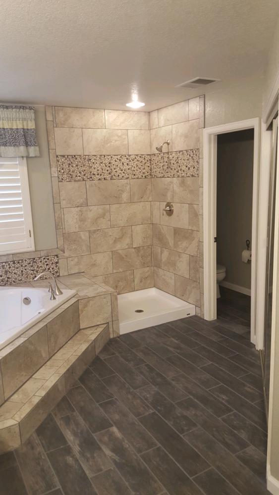 Master Bath Tile Remodel
