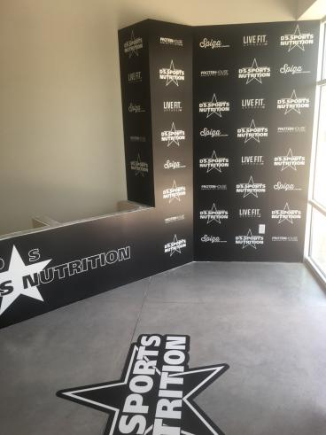 Wall Mural and Floor Graphic