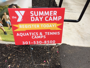 YMCA Best Summer Ever Yard Signs