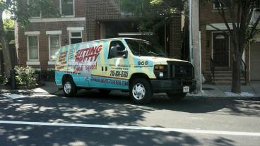 Ford E 150 van wrap