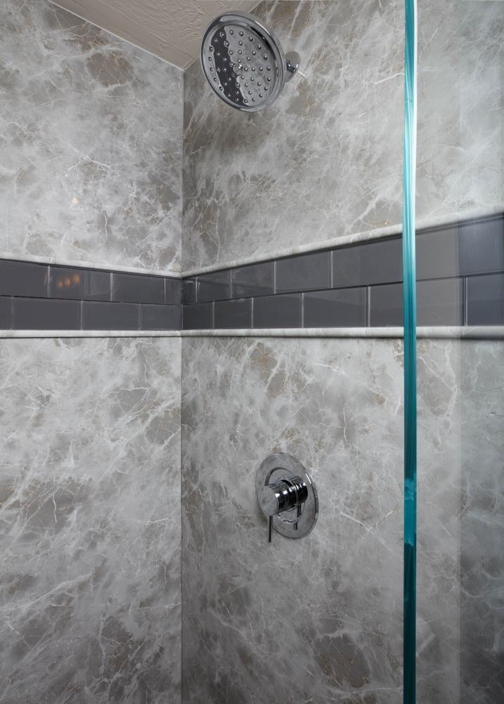 Add your style to our Durabath SSP or Natural Stone.