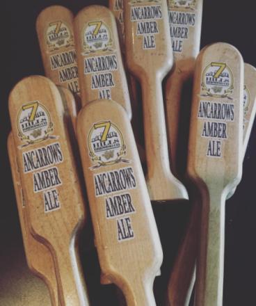 7Hills Brewing Company Tap Handles