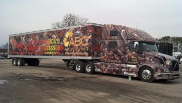 ABC Recycling 52' Trailer Wrap