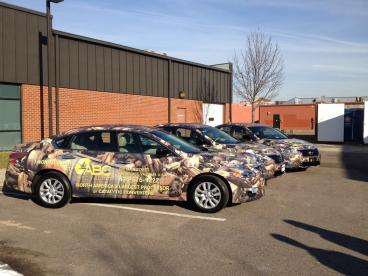 ABC Recycling Fleet Wrapped