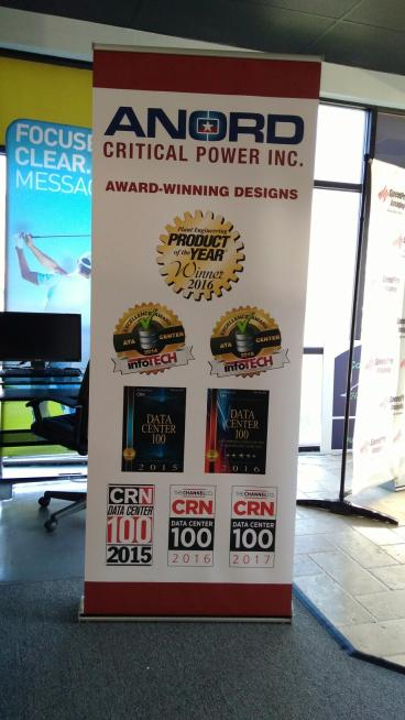 Anord Tradeshow Banner Stand