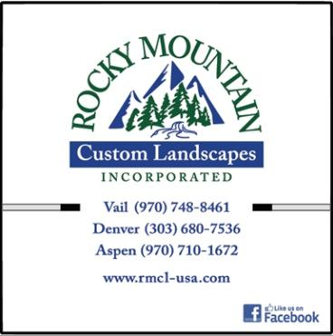 Rocky Mountain Custom Landscapes box trucks wrapped by speedprodenver.net