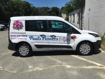 Paul's Flowers Vehicle Graphics