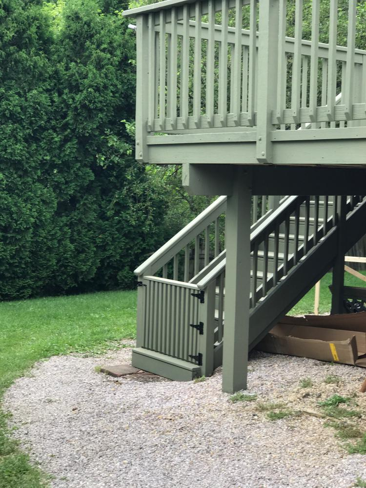 Deck Repair and Stain - Sykesville, MD