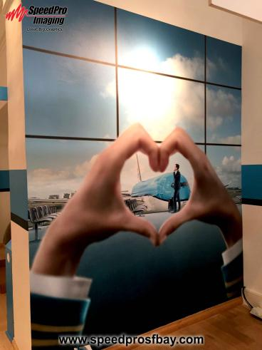 KLM Welcome Wall