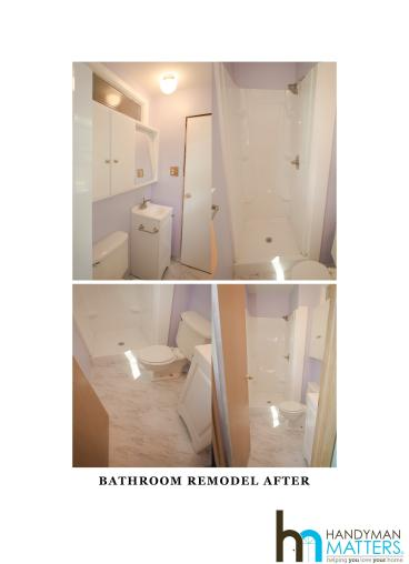 Bathroom Remodel Finished project in Overland Park, KS