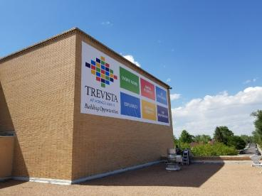 Trevista: Direct Print to 13oz scrim banner with Sewn Hems