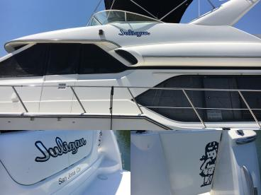 Juligan San Jose boat lettering