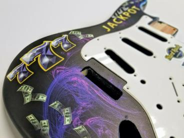 Fender Stratocaster Wrap for Hard Rock Rocksino