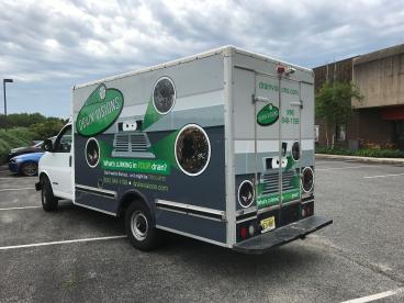 Service Truck Wrap | Drain Vision | South Jersey | SpeedPro Imaging