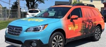WXPN Vehicle Wrap