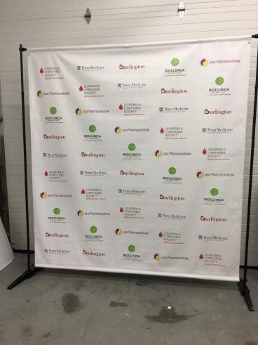 Leukemia and Lymphoma Society Standing Banner