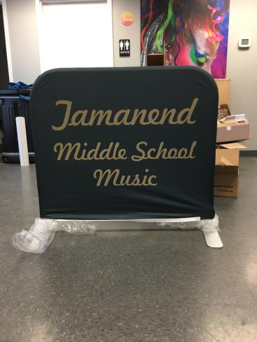 Tamanend Middle School Music Custom Cloth Banner