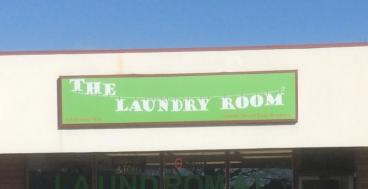 The Laundry Room Backlit Sign