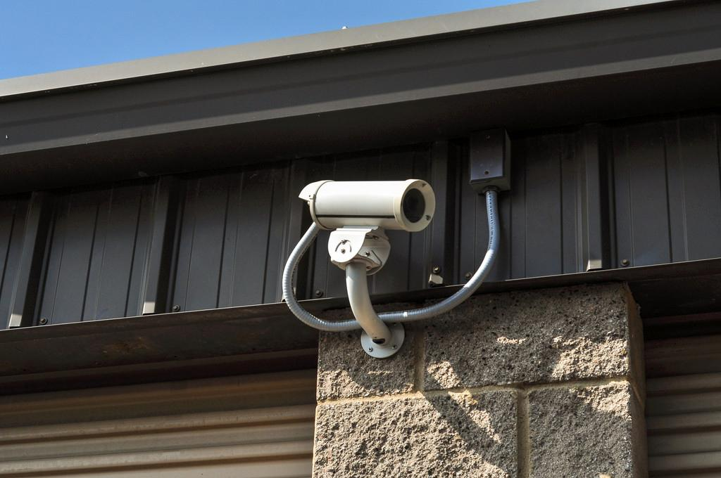 Security Cameras Throughout The Property