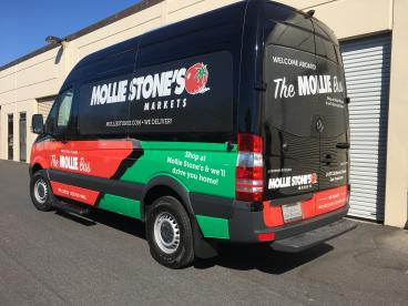 Mollie Stones Sprinter Wrap - San Francisco Bay Area