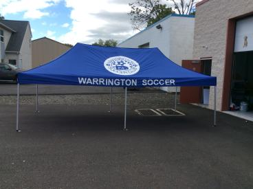 Warrington Soccer Event Tent