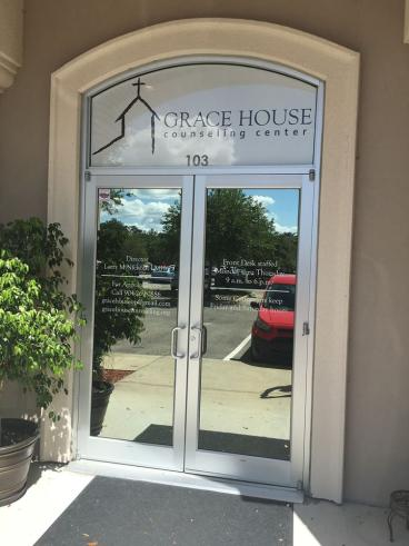 Grace House Window Graphics